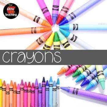 Crayons Stock Photo BUNDLE