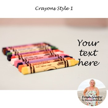 Crayons Style 1
