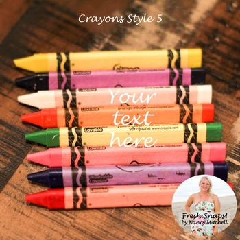 Crayons Style 5