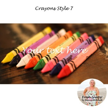Crayons Style 7