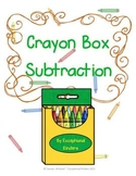 Crayons Subtraction Mats