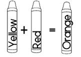 Crayons - black and white