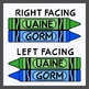 Crayons in Scottish Gaelic / Colors in Scottish Gaelic (High Resolution)