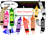 The Crayons are Mad Clipart Pack