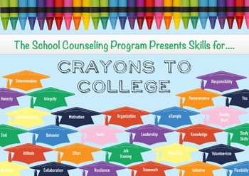 Crayons to College Poster or Image for Program Promotion