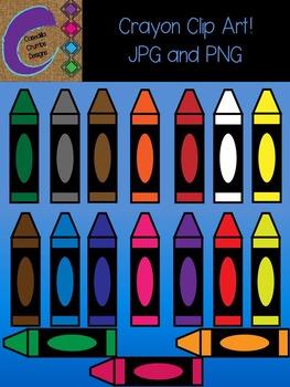 Crayons Clip Art Color Images Designs