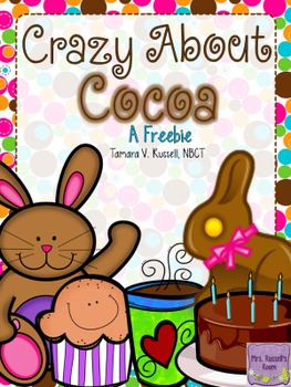 Crazy About Cocoa: An ELA/Math Freebie for Firsties & Seconds