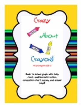 Crazy About Crayons Graphing Activities!