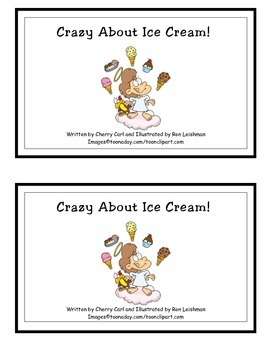 Crazy About Ice Cream Guided Reader (Cr and Fl initial blends)