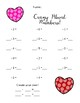 Crazy About Math Dice Game