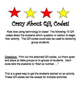 Crazy About QR Codes