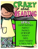 Crazy About Reading April- NO PREP ELA Essentials