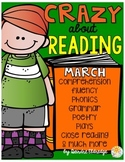 Crazy About Reading March- NO PREP ELA Essentials