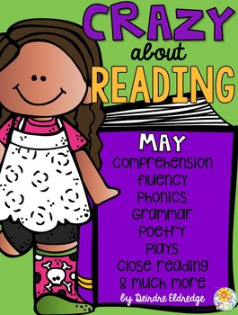 Crazy About Reading May- NO PREP ELA Essentials