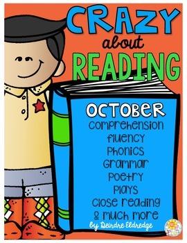 Crazy About Reading October- NO PREP ELA Essentials