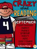 Crazy About Reading September- NO PREP ELA Essentials