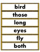 Crazy About Reading Sight Word Tests and Word Wall Cards (Set 2)