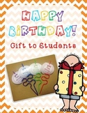 Crazy Birthday Straw - Gift to Students