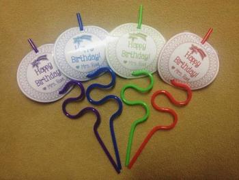 Crazy Birthday Straw - Gift to Students