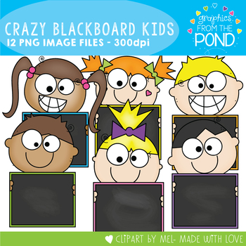 Crazy Blackboard / Chalkboard Kids