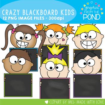 Crazy Blackboard Kids