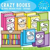 Crazy Books Clipart