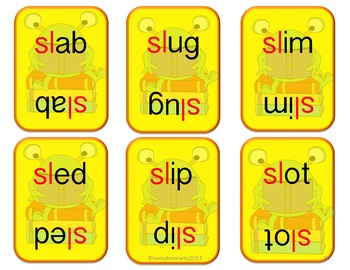 Crazy B's (Blends) pl sl bl fl  (Common Core)