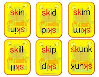 Crazy B's (Blends) sp sk sm  (Common Core)
