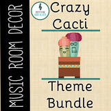 Crazy Cacti Music Room Theme - Super Bundle, Rhythm and Glues