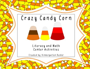 Crazy Candy Corn Literacy Centers