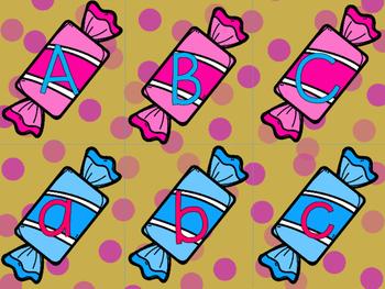 Alphabet Match Center Crazy Candy