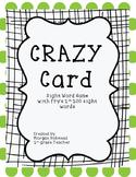 Crazy Card