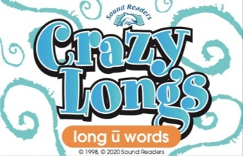 "Crazy Cards! (Crazy Longs: ""long u"" Deck)"