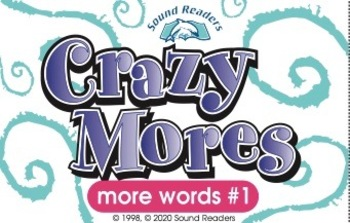 "Crazy Cards! (Crazy Mores: ""Deck #1 - Spellings of /oo/"")"