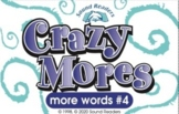 Crazy Cards! (Crazy Mores: Deck #4 - ong, ea - short, ook,