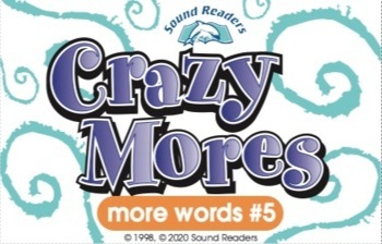 """Crazy Cards! (Crazy Mores: Deck #5 - """"ink/ank, ing/ang, ture/tion"""")"""