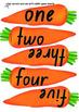 Maths Game:Crazy Carrots- numerals, words, tally marks, dot patterns (K/PreK)
