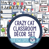 Crazy Cat Classroom Decoration Set