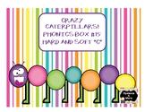 """Crazy Caterpillar - Phonics Box #15 - Hard and Soft """"C"""""""