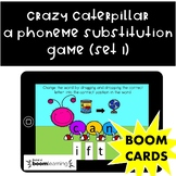 Phoneme Substitution in Initial, Medial and Final Sounds-Boom Cards (Set 1)