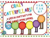 Crazy Caterpillars - A Speech Craftivity for Early Develop