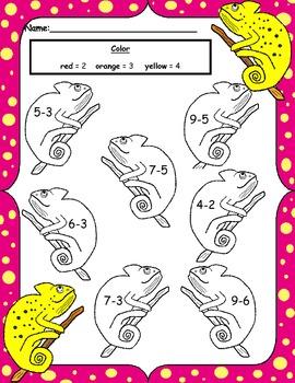 Crazy Chameleon Math