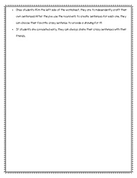 Crazy Charade Lesson Plan
