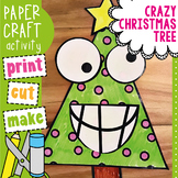 Crazy Christmas Tree - Paper Craft