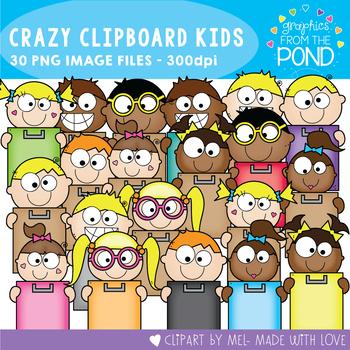 Crazy Clipboard Kids