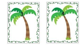 Crazy Coconut Math for kindergarten