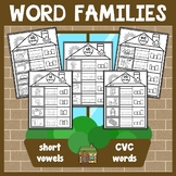 Color Words Worksheets and Activities