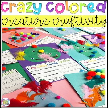 Crazy Colored Creatures Halloween Project