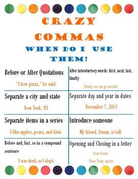 Crazy Comma's