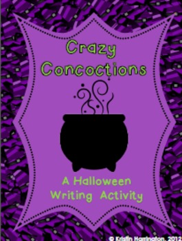 Crazy Concoctions: A Halloween Writing Activity